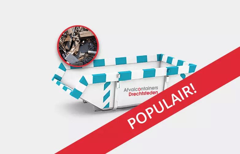 Afvalcontainers Drechtsteden Bouwafval container Huren vanaf 230 euro