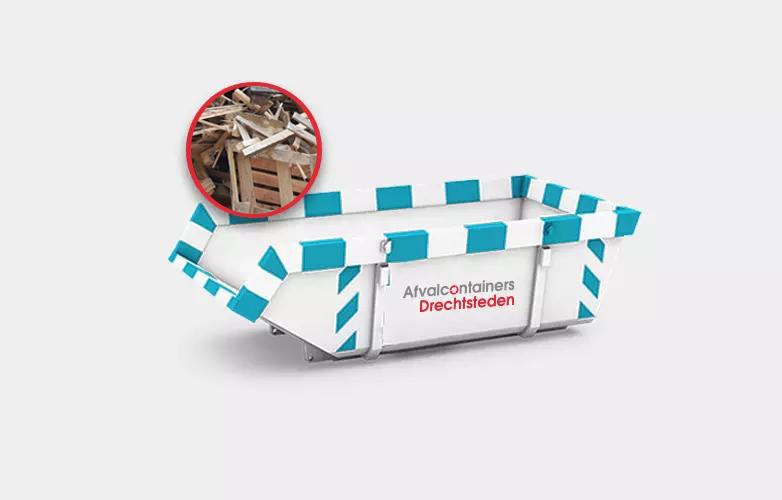 Afvalcontainers Drechtsteden Houtafval container Huren vanaf 159 euro